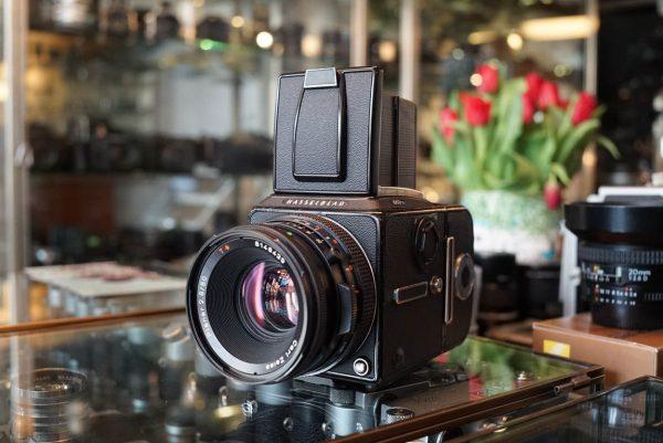 Hasselblad 503CXI + Zeiss Planar 2.8 / 80mm CF lens