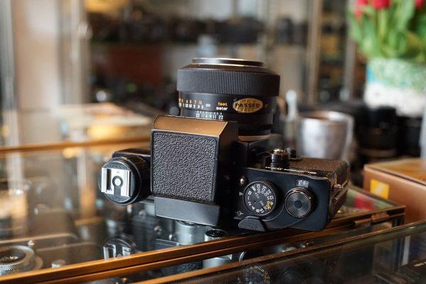 Topcon Super DM + Macro Topcor 3.5 / 58mm lens