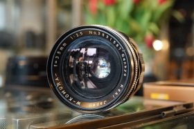 Sankyo Koki W-Komura 35mm 1:2.5 M42 mount lens