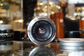 Carl Zeiss Planar 1:3.5 / 35mm for Contax IIa etc