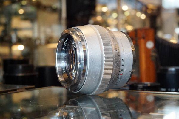 Contarex Zeiss Sonnar 1:2 / 85mm lens