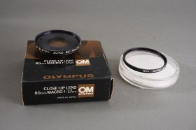 Olympus Close-Up lens 80mm Macro f=17cm, boxed