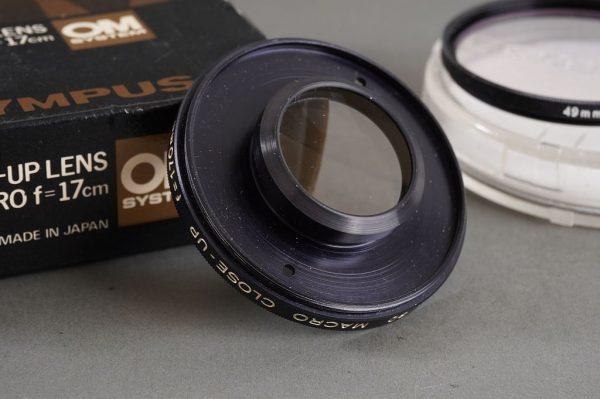 Olympus Close-Up lens 80mm Macro f=17cm, boxed