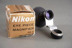 Nikon eye piece magnifier DG-2