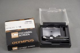 Olympus OM 1-1 focusing screen in wrong box