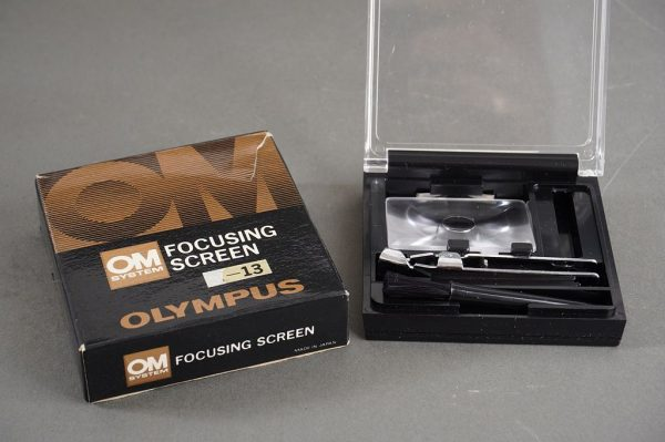 Olympus OM 1-12 focusing screen in wrong box