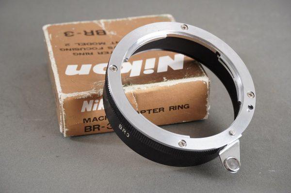 Nikon BR-3 macro adapter ring – boxed