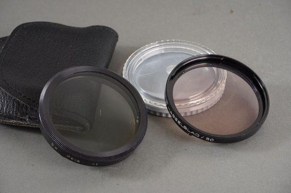 Hasselblad B50 CR3 filter + B50 2x Pola filter