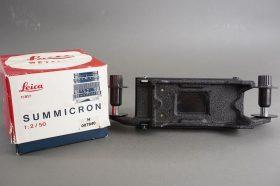 empty box for Leica Summicron-M 2/50 + copyting device
