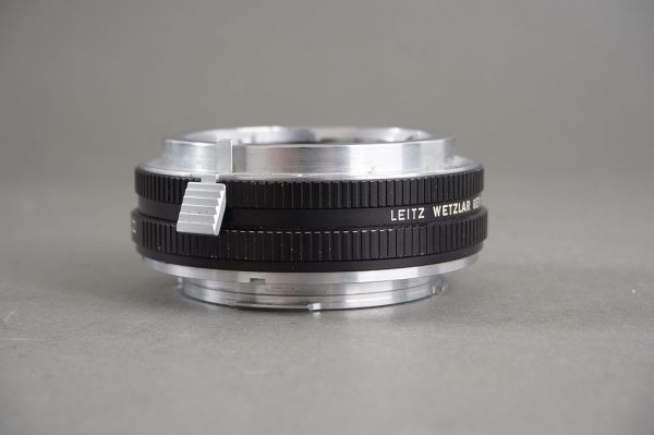 Leica M to R adapter, mounts Visoflex M lenses on Leicaflex body, with aperture ring, 14127F