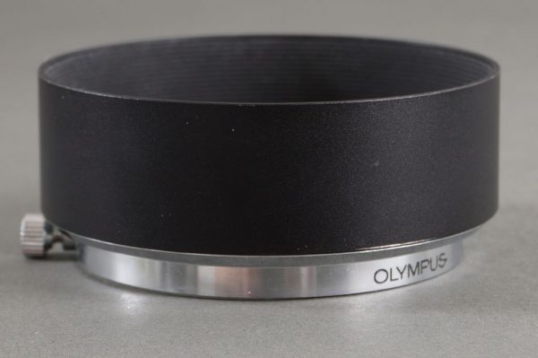 Olympus metal lens hood for 1.4/50 and other Zuiko lenses