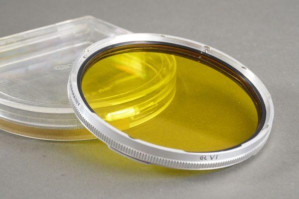 Rollei Baj. VI yellow filter, in case