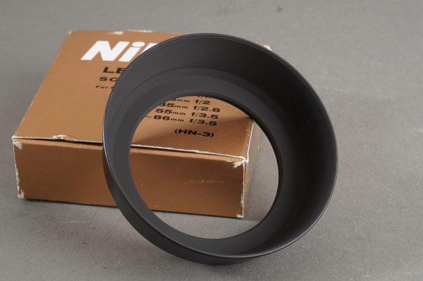 Nikon HN-3 lens hood for 1.4/35 Nikkor and other lenses