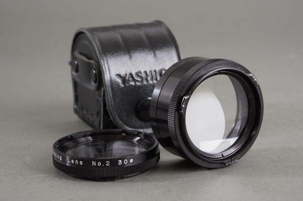 Yashica No. 2 close-up lens set for TLR cameras, cased