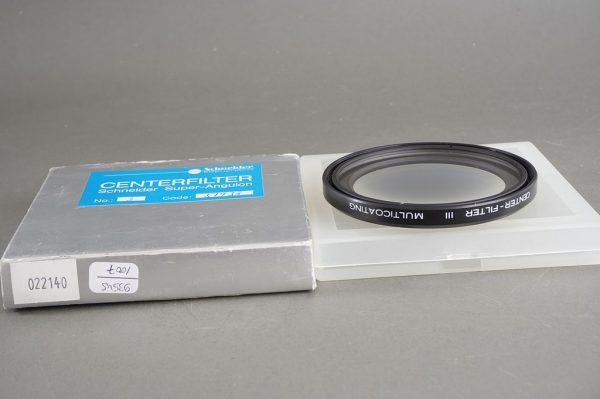 Schneider Kreuznach Center Filter III Multicoating, 67mm screw-in, boxed