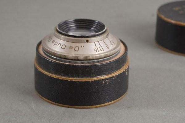 De Oude Delft / Old Delft Orion lens, 58mm 1:4, boxed enlarger lens