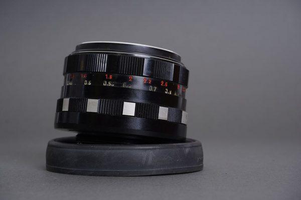 Pentacon auto 50mm 1:1.8, M42 lens