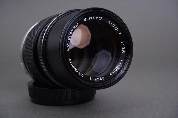 Olympus OM System Zuiko 135mm 1:3.5 lens