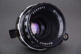 Enna Munchen Ennalyt 50mm 1:1.9 socel lens in Exakta mount