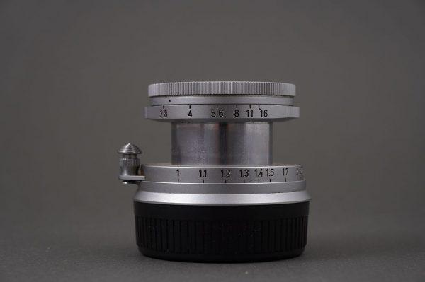 collapsible Leica Leitz Wetzlar 50mm 1:2.8 Elmar M mount