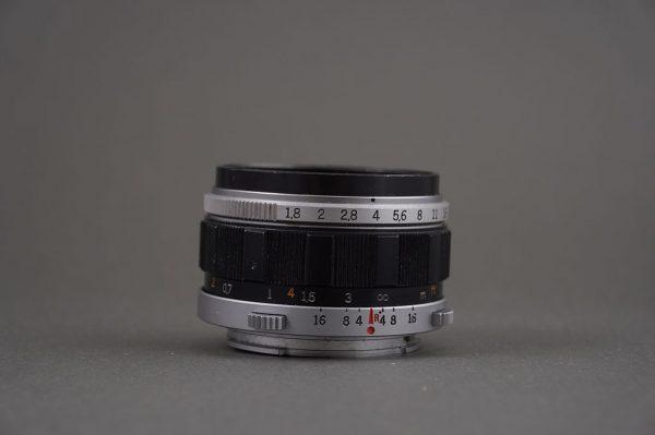 Olympus F Zuiko Auto-S 38mm 1:1.8 lens for film Pen cameras