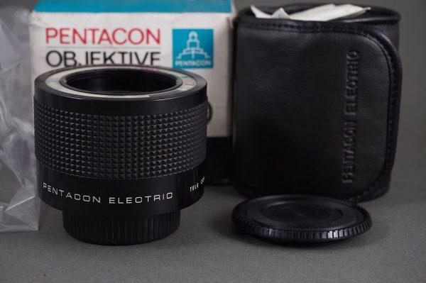 Pentacon Electric Tele Converter 2x Extension Tube 1:1, M42 mount, boxed, NOS