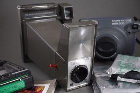 Polaroid Big Shot portrait land camera + Instax camera + extras