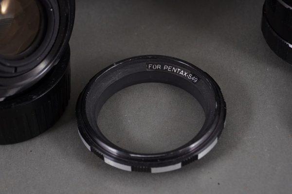 Set of M42 macro extension tubes + Vivitar 2x MC Tele Converter