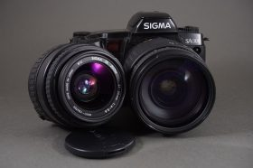 Sigma SA-300 with 28-200 and 35-80 AF lenses