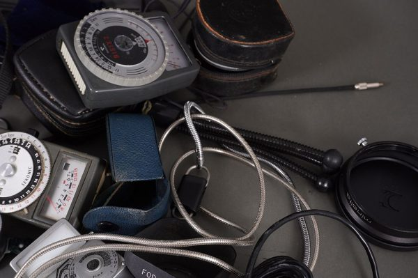 a bunch of interesting camera and lens accessories – check pictures