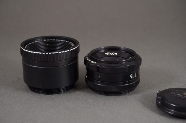 Schneider Componar-C 3.5/50mm + EL-Nikkor 4/50mm enlarger lenses