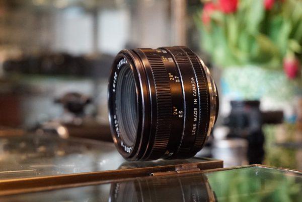 Leica Leitz Summicron 2.0 / 50mm 3-cam