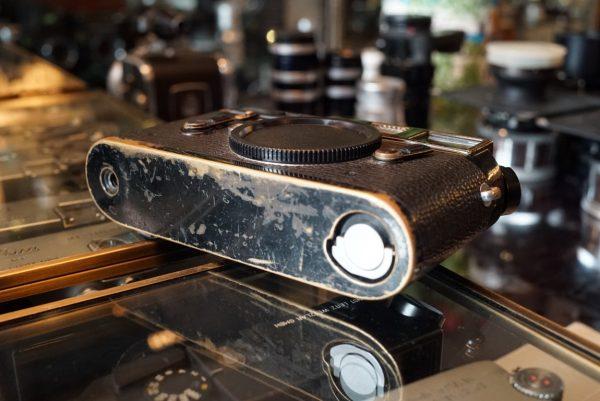 Leica M4 Black Paint