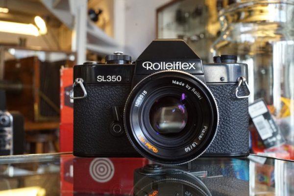 Rolleiflex SL350 + Planar 50mm f/1.8 HFT