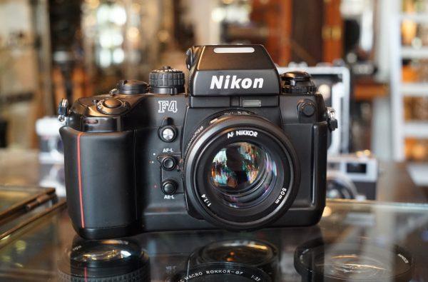 Nikon F4 + Nikon AF Nikkor 50mm f/1.4