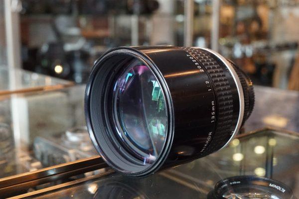 Nikon Nikkor 135mm 1:2 AIS