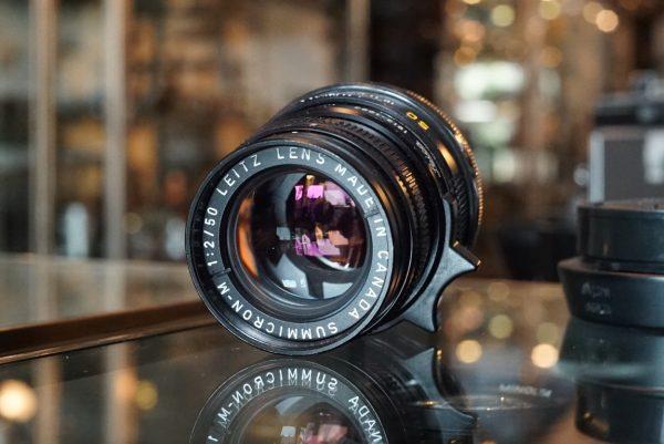 Leica Leitz Summicron-M 50mm f/2 V4 1913-1983