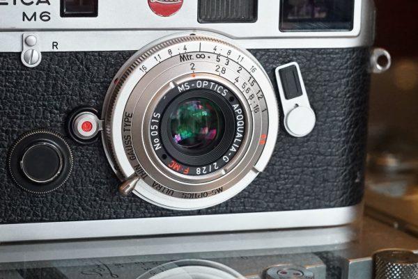 MS Optical Apoqualia-G 28mm f/2 M Boxed