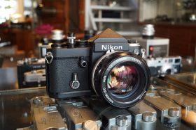 Nikon F2 Titanium w/ Nikkor 55mm f/1.2 S-C