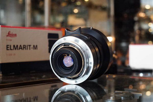 Leica Leitz Elmarit-M 21mm f/2.8 Boxed