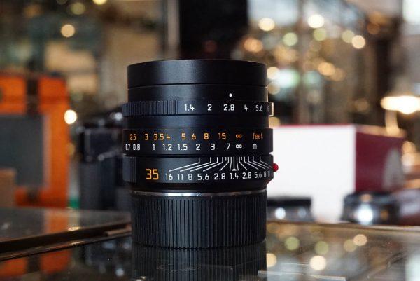 Leica Summilux-M 1:1.4 / 35 ASPH, FLE lens, 6-bit, Boxed