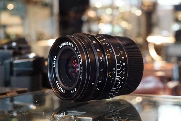 Leica Summicron-M 2 / 28mm Asph, 6-bit, BOXED