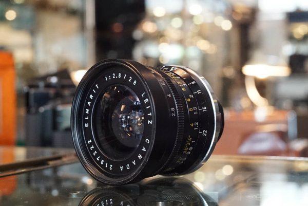 Leica Leitz Elmarit 2.8 / 28mm M first version