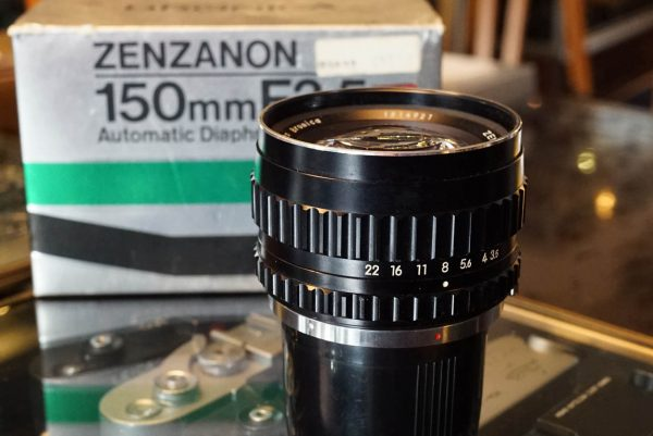 Bronica Zenzanon MC 1:3.5 / 150mm lens, Boxed, for S2a / EC-TL etc