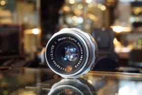 Meyer Optik Görlitz Trioplan 1:2.9 / 50mm V lens
