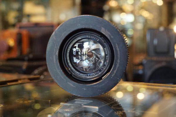 Bausch & Lomb Raytar 50mm f/2.3 movie lens