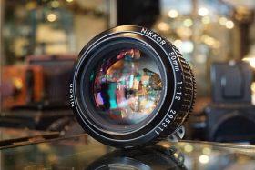 Nikon Nikkor 50mm 1:1.2 AIs lens