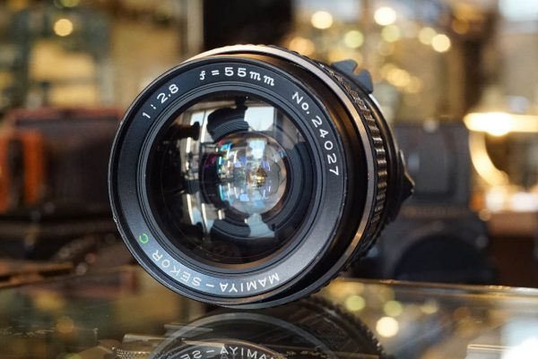 Mamiya Sekor C 1:2.8 / 55mm lens for M645