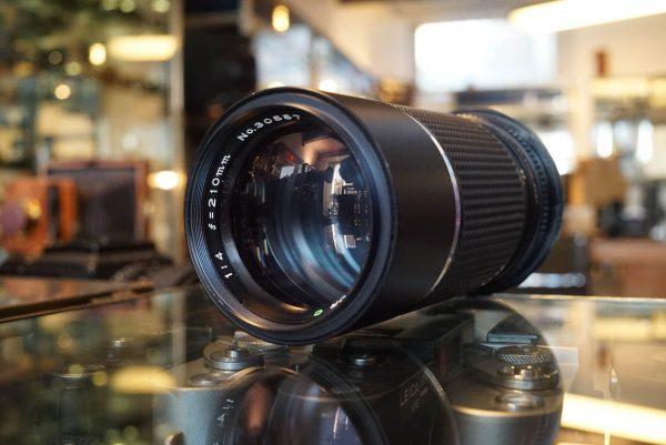 Mamiya Sekor C 1:4 / 210mm lens for Mamiya M645