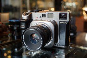 Mamiya 7 + Mamiya N 80mm f/4 L lens